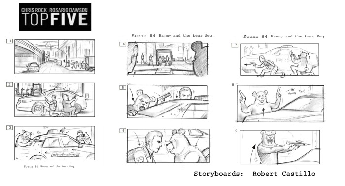 Top Five Storyboards